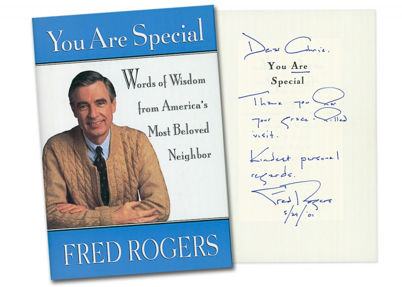 Mister Rogers Gets His Stamp